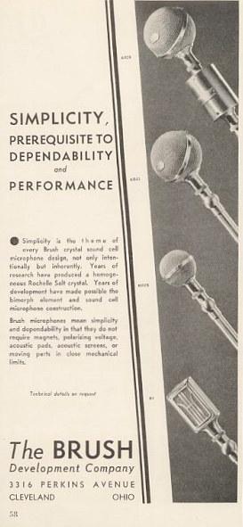 Brush 1937 ad