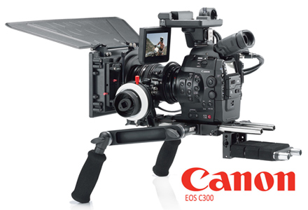 Rent a Canon EOS C300 Cinema Camcorder