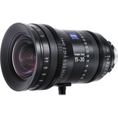 Zeiss 15 - 30mm CZ.2 Compact Zoom Lens (PL Mount, Feet)