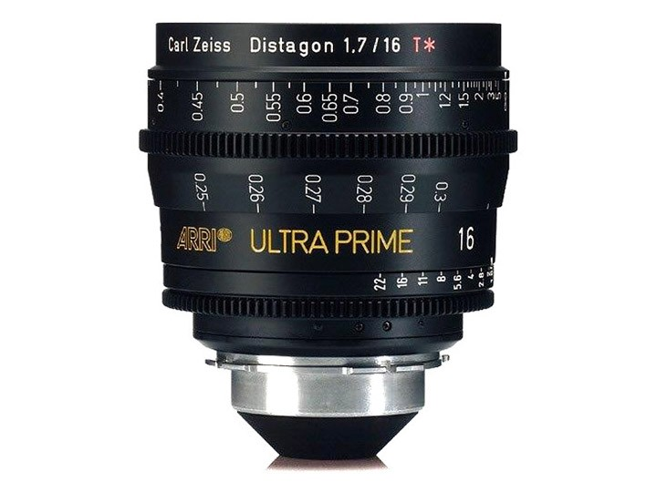 Arri Zeiss Ultra Prime, 16mm T1.9