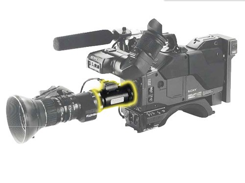 "AstroScope Night Vision Sony 2/3"" B4 Mount"