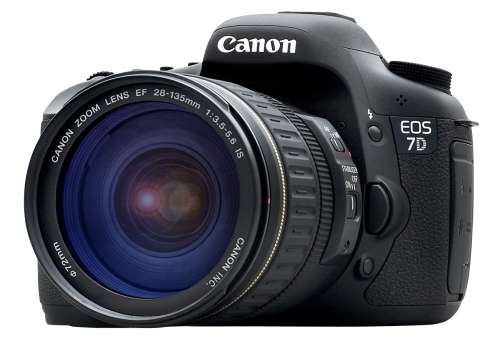 Canon EOS 7D DSLR Camera