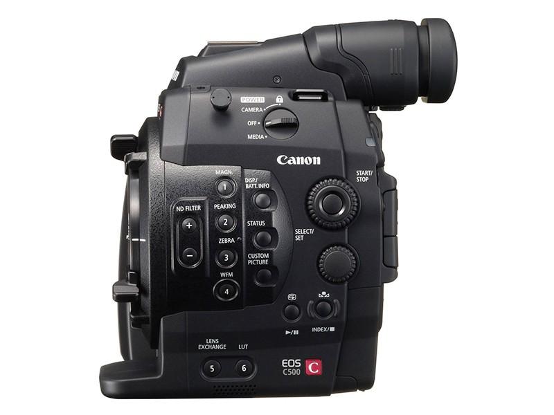 Canon EOS C500 4K Cinema Camera - EF Lens Mount NTSC