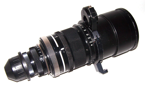 Cooke 25-250mm T3.9 Mark II Zoom Lens
