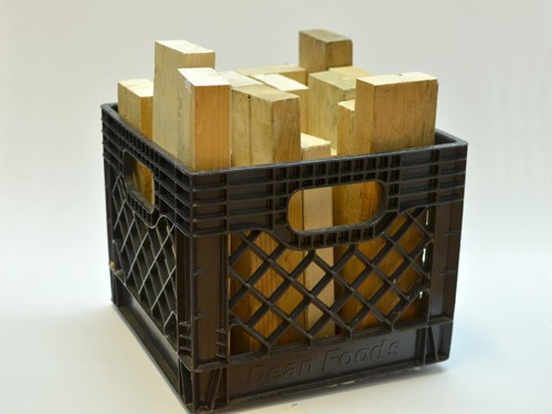 Crate Of 2x4 Cribbing Wood Rental