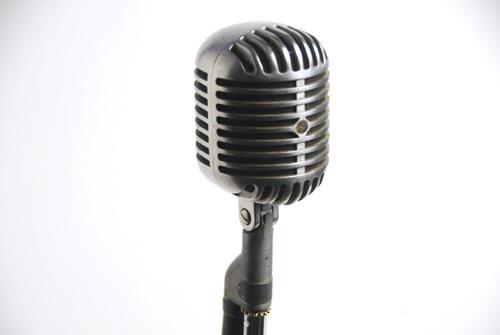 """Shure 55S """"Elvis"""" Microphone Prop, #M1"""