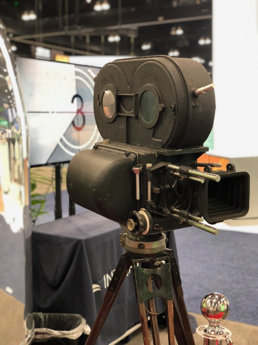 Mitchell BNCR 35mm Camera at NASS 2018
