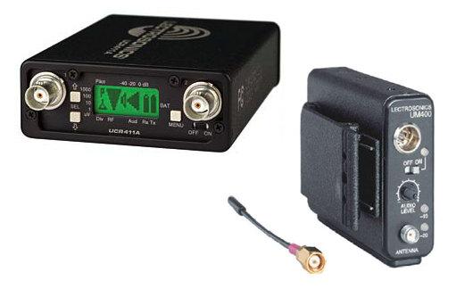 Lectrosonics UHF 400/411 Wireless Diversity Kit, w/Sanken