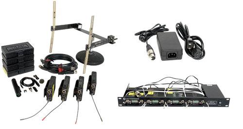 Lectrosonics UHF 411 x 4 Quad Diversity Kit