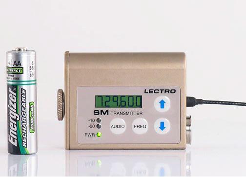 Lectrosonics SM digital wireless lavalier kit