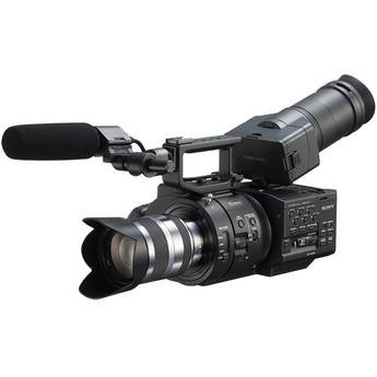 Sony NEX-FS700UK PAL Super 35 Camcorder w/18-200mm Lens