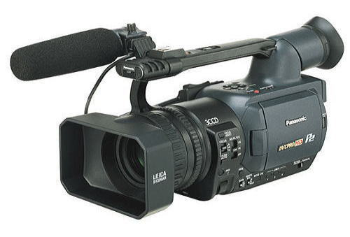 Panasonic ag-hvx200 p2 hd camcorder tvtechnology.