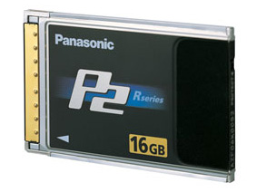 Panasonic P2 card, 16GB (w/camera)