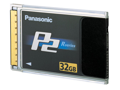 Panasonic P2 card, 32GB