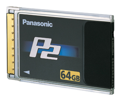 Panasonic P2 card, 64GB