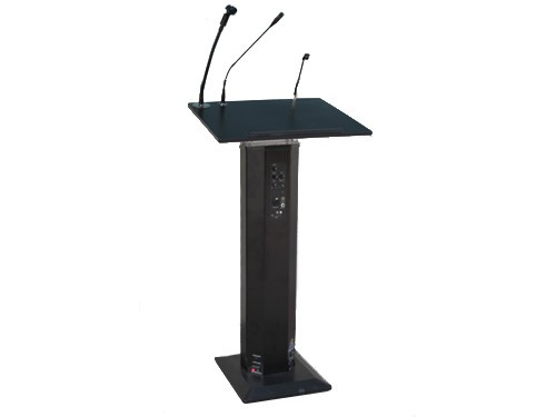 Podium / Lectern with Amp and Speakers
