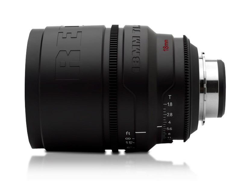 RED Pro Primes 18mm lens