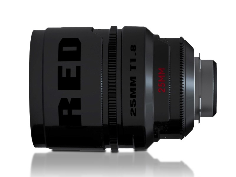 RED Pro Primes 25mm lens