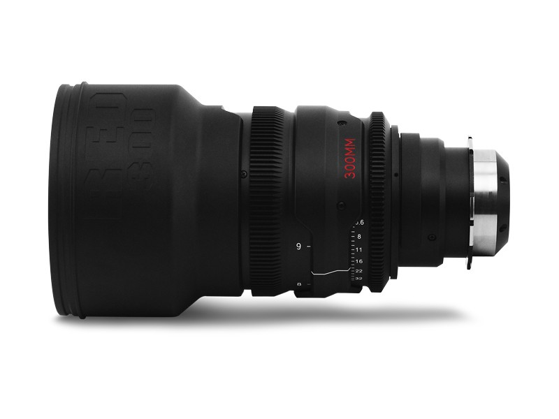 RED Pro Primes 300mm lens