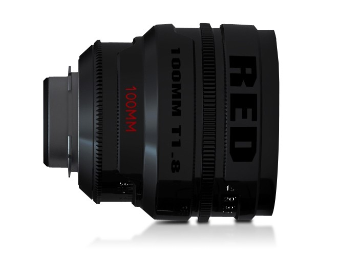 RED Pro Primes 100mm lens