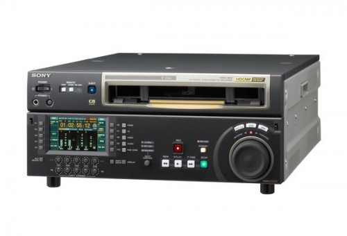 Sony HDW1800 XDCAM Studio Editing Recorder