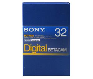 Sony BCT-D32, Digital Betacam