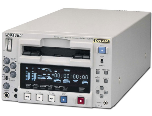 Sony Dsr1500a Dvcam Recorder Player Rental