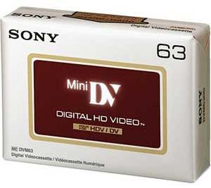 Sony DVM63 HD Mini DV