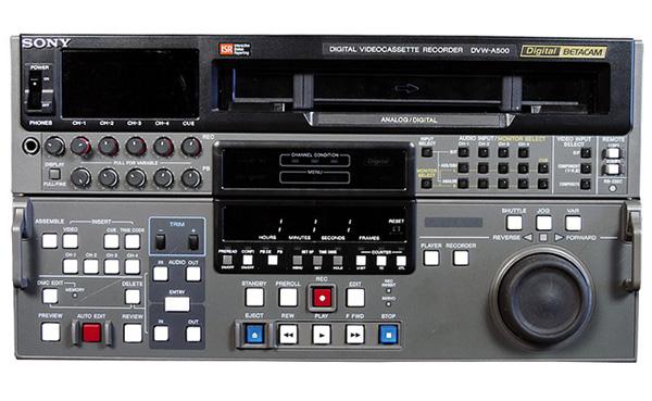 Sony DVW-A500P PAL Betacam Recorder