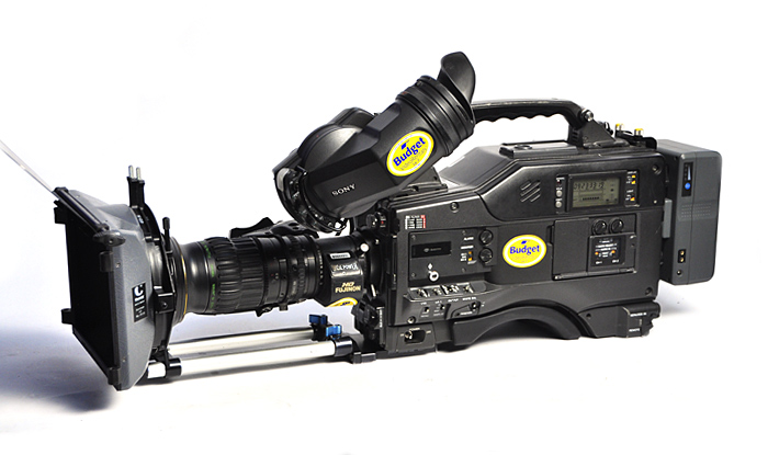 Sony HDW-F900 Cine Alta with Lens