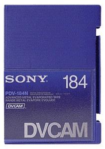 Sony PDV-184N, DVCAM