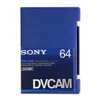 Sony PDV-64N, DVCAM