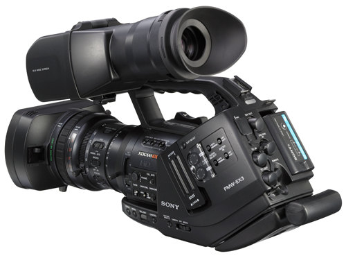 Sony PMW-EX3 XDCAM HD Camcorder