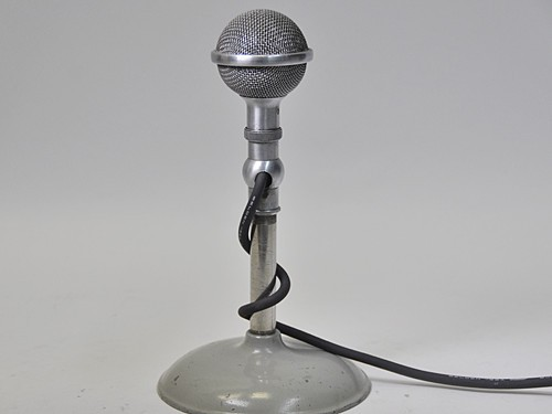 Brush Crystal Microphone Prop, #M5