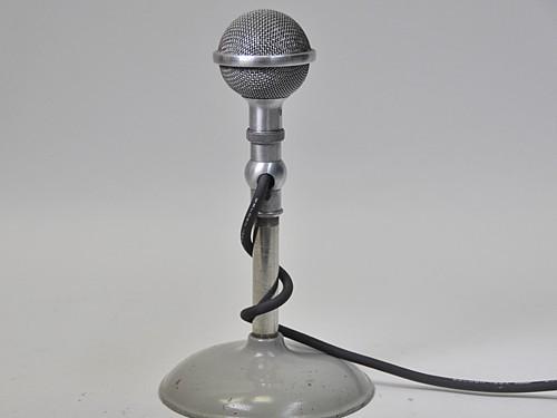 Brush Crystal Microphone Prop, #M5