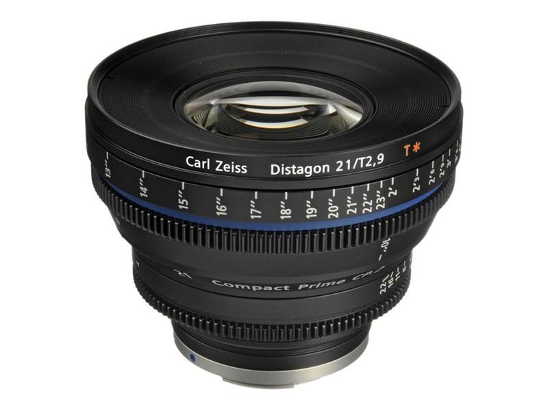 Zeiss Compact Prime CP.2 21mm/T2.9 Cine Lens (PL Mount)