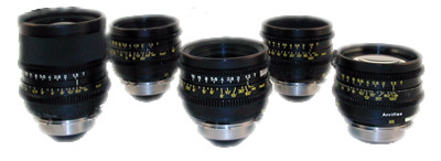 Zeiss SuperSpeed 35mm Lenses (5 lens kit), PL Mount
