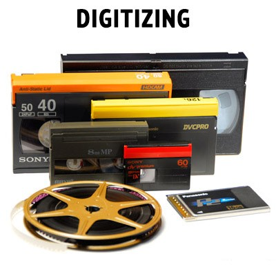 Any Format Tape to Digital