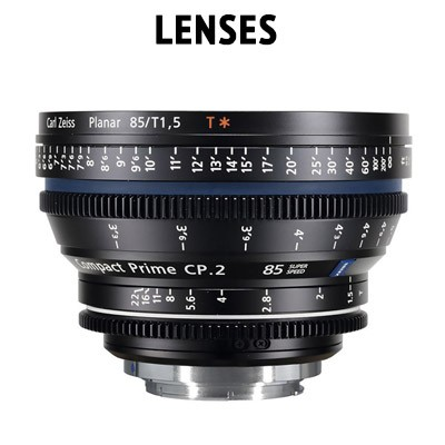 Rent lenses at Budget Video