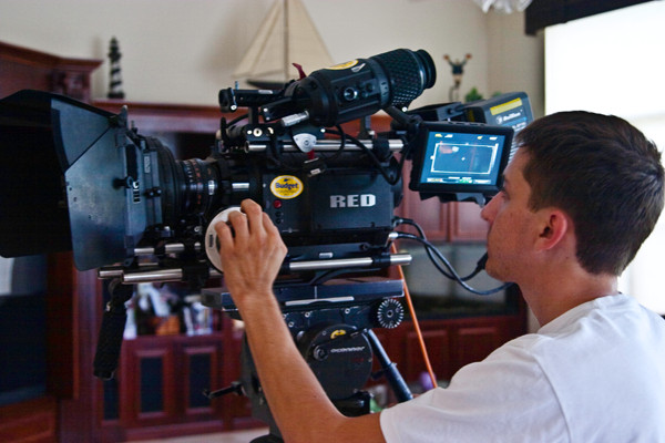 Martin Ubilluz with RED Camera from Budget Video Rentals