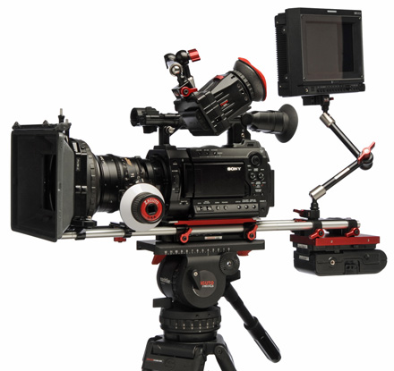 Rent a Sony F3 and Zacuto Accessories