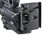 Anton Bauer adapter for JVC HD100, HD110