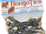 """BongoTies Standard 5"""" Elastic Cable Ties (10 Pack)"""