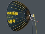 Briese Focus 180 Parabolic Focus Reflector Kit