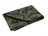 Camouflage All Purpose/Weather Resistant Tarp
