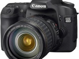 Canon EOS 40D DSLR Camera w/grip
