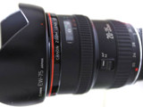 Canon EF 20-35mm f/2.8L 35mm zoom lens