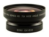 Century .75X HD Wide Angle Converter EX1/EX3
