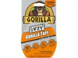 "Crystal Clear Gorilla Tape, 1.88"" x 27'"