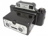 Coronet 3D Binocular 35mm Camera Prop Black, #C26